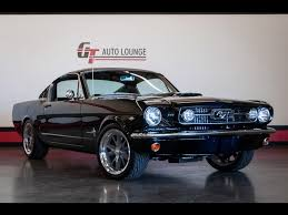 1966 Ford Mustang Black 1966 Ford Mustang Fastback For Sale In Rancho Cordova Ca Stock