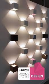 pattern wall lights contemporary wall light square aluminum led alea led 456