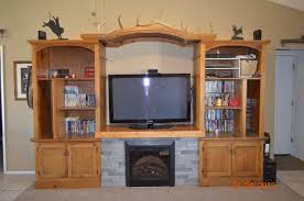 ana white entertainment center fireplace diy projects with