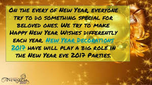 Decoration Of New Year Party by New Year Decorations 2017 Decorate Your Party Venue