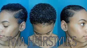 3 easy twa hairstyles youtube