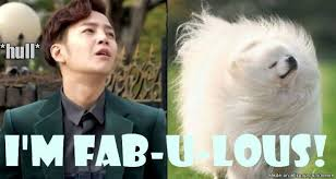 Flips Hair Meme - everyone knows i m fabulous flips hair allkpop meme center