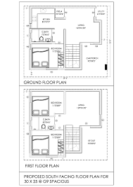 South Facing Duplex House Floor Plans by South Facing House Plans 30 X 60