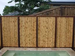 Fence Landscaping Ideas Bamboo Fencing Ideas Rolitz