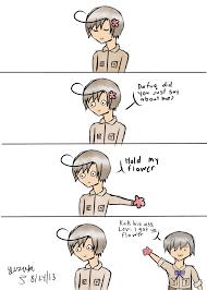 Hold My Flower Meme - hold my flower by amaiyuzuki564 on deviantart