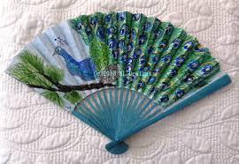 peacock fan peacock fan for summer days nldesignsbythesea