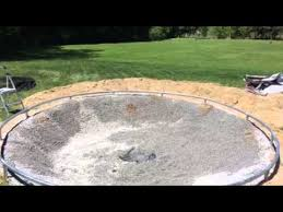 in ground trampoline youtube