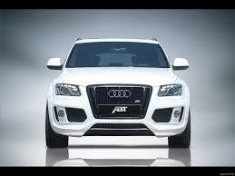 Audi Q5 8 Seater - 2009 abt audi q5 white front angle view photo wallpaper 3