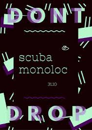 ra dont drop halloween with scuba monoloc at sub club glasgow
