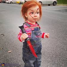 chucky costume toddler play chucky baby costume