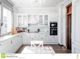 maison cuisine kitchen interior in luxury home with touch of retro modern