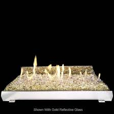 Fireplace Burner Pan by Rh Peterson 30 Inch Contemporary Vent Free Glass Fireplace Burner