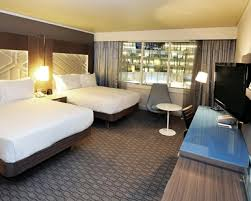Paris Hotel Rooms Standard Guest Rooms Hilton Paris La Defense - Family room paris hotel
