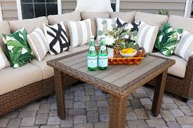 home depot patio table with pergola design ideas and an outdoor sectional set