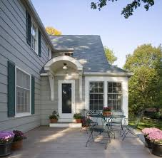 portico designs for a traditional exterior with a curved awning