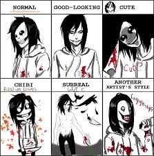style meme with jeff the killer by littleluxray on deviantart