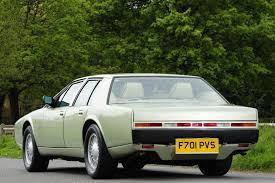 vintage aston martin interior buy an aston martin lagonda u2013 it u0027s an investment say specialists