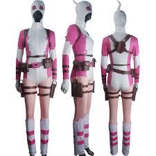 Birthday Suit Halloween Costume Women Men Deadpool Cosplay Wade Wilson Battleframe