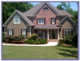 matching exterior paint colors with brick painting home design