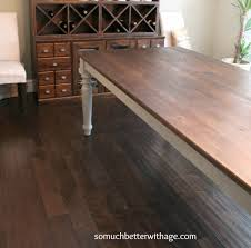 Pottery Barn Dining Room Tables Dining Room Table Makeover So Much Better With Age