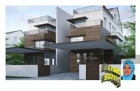 3 storey house brand new 3 storey semi detached house with attic and swimming