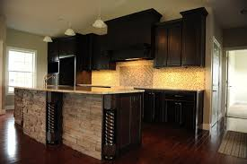 Contemporary Kitchen Cabinets Dark U0026 Dramatic Contemporary Kitchen St Louis By Lustig