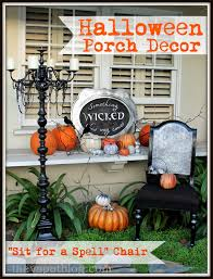 the thanksgiving chair spooky porch decor and a halloween chair the v spot