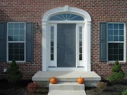 house front door colors that go with brick and rust front door paint for homes