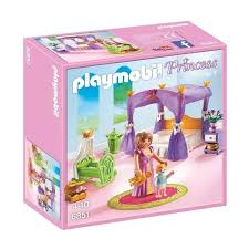 chambre bébé playmobil playmobil 6851 chambre de la reine avec lit à baldaquin achat