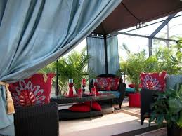 10 relaxing outdoor curtain designs rilane