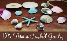 Krylon Short Cuts Spray Paint - little gray fox diy painted seashell jewelry