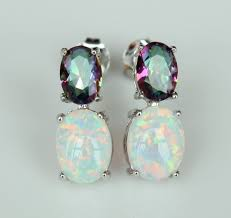 white opal earrings 5 white fire opal earrings white fire opal stud earrings magick
