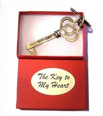 key to my heart keyring gifts
