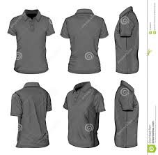 men u0027s black short sleeve polo shirt stock photo image 31404670