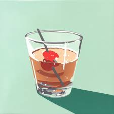 manhattan drink illustration lori larusso bourbon cocktails u2014 jordan faye contemporary