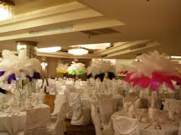 ostrich feather centerpieces flower and event decor ostrich feather centerpieces