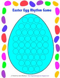 thanksgiving music worksheets sing a new song easter egg rhythm worksheet