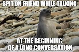Awkward Seal Meme - pretty awkward seal meme generator awkward situation creator seal