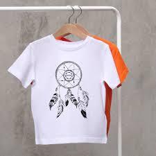 personalised child u0027s u0027dreamcatcher u0027 t shirt by a piece of