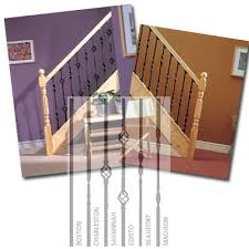Metal Stair Banister Metal Balusters For Staircase Banister Balustrade For Landing
