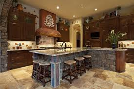 mission kitchen island stunning mission kitchen style with l shape kitchen island