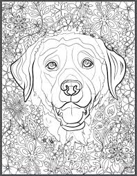 dog coloring pages adults phone coloring dog coloring pages