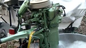 1955 johnson 10 hp qd16 good motors