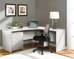 White L Shaped Desks Modern White L Shaped Desk With Mobile Pedestal Officedesk