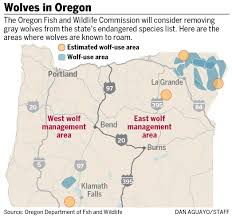 Map Of Seaside Oregon by Wolf Allies Foes Prep For Battle As Oregon Reconsiders Endangered