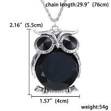black rhinestone necklace images Long chain necklace for girl big black rhinestone necklaces cute jpg