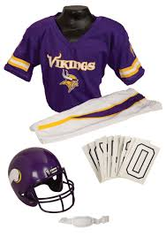 Viking Halloween Costume Nfl Vikings Uniform Costume