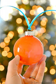 glitter ornaments in lieu of preschool