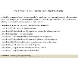 best cover letter sample for sales associate pictures podhelp