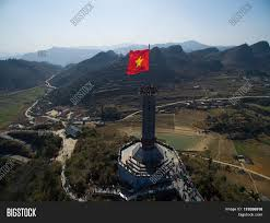 Drone Lung Lung Cu Flag Tower Drone Hagiang Image Photo Bigstock